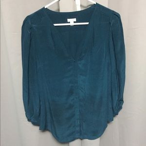 Anthropologie Silk blouse top